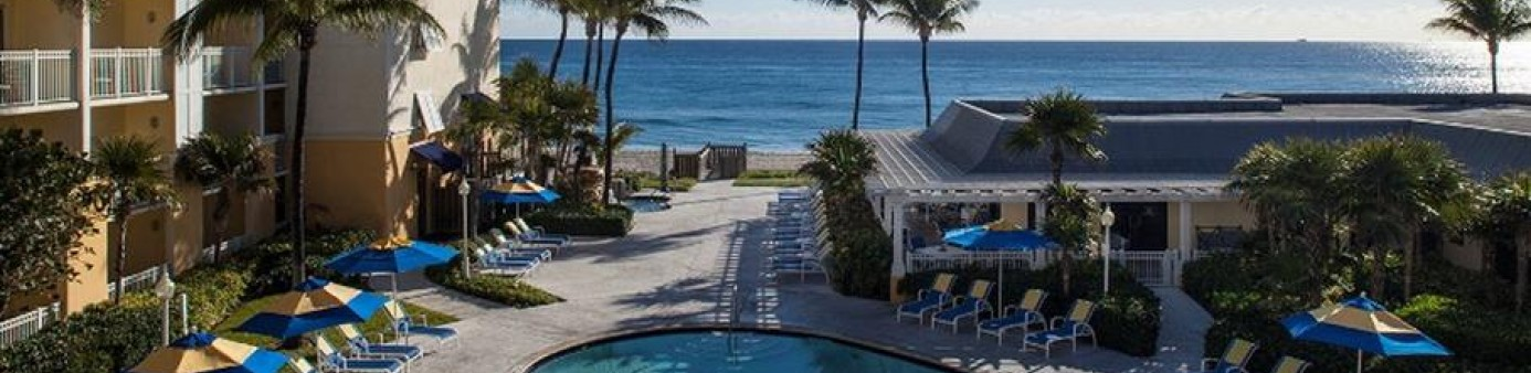 The Delray Sands Resort in Highland Beach is steps away from the Atlantic Ocean. PALM BEACH POST FILE PHOTO