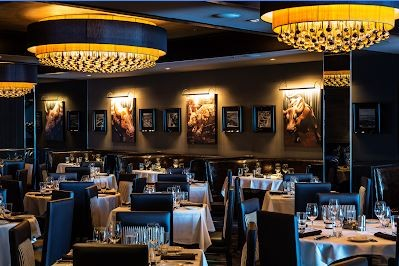 Dining area of Morton's Steakhouse